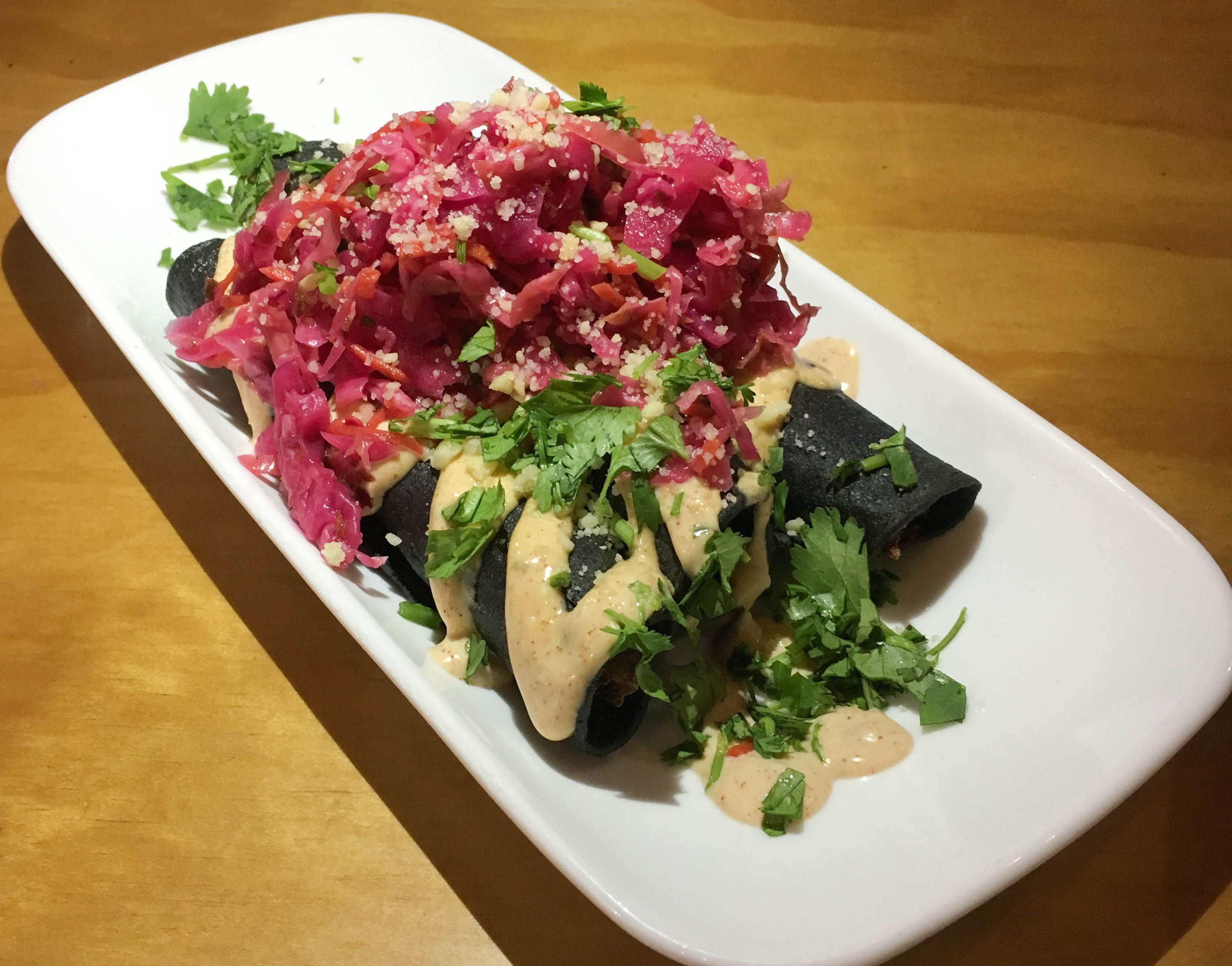 Purple Taquitos mexican vegan food restaurant healthy lifestyle