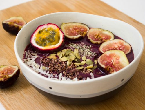 açai bowl vegan healthy