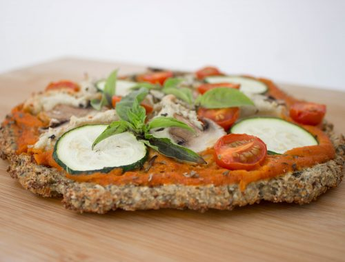 vegan pizza healthy recipes cauliflower crust vegan