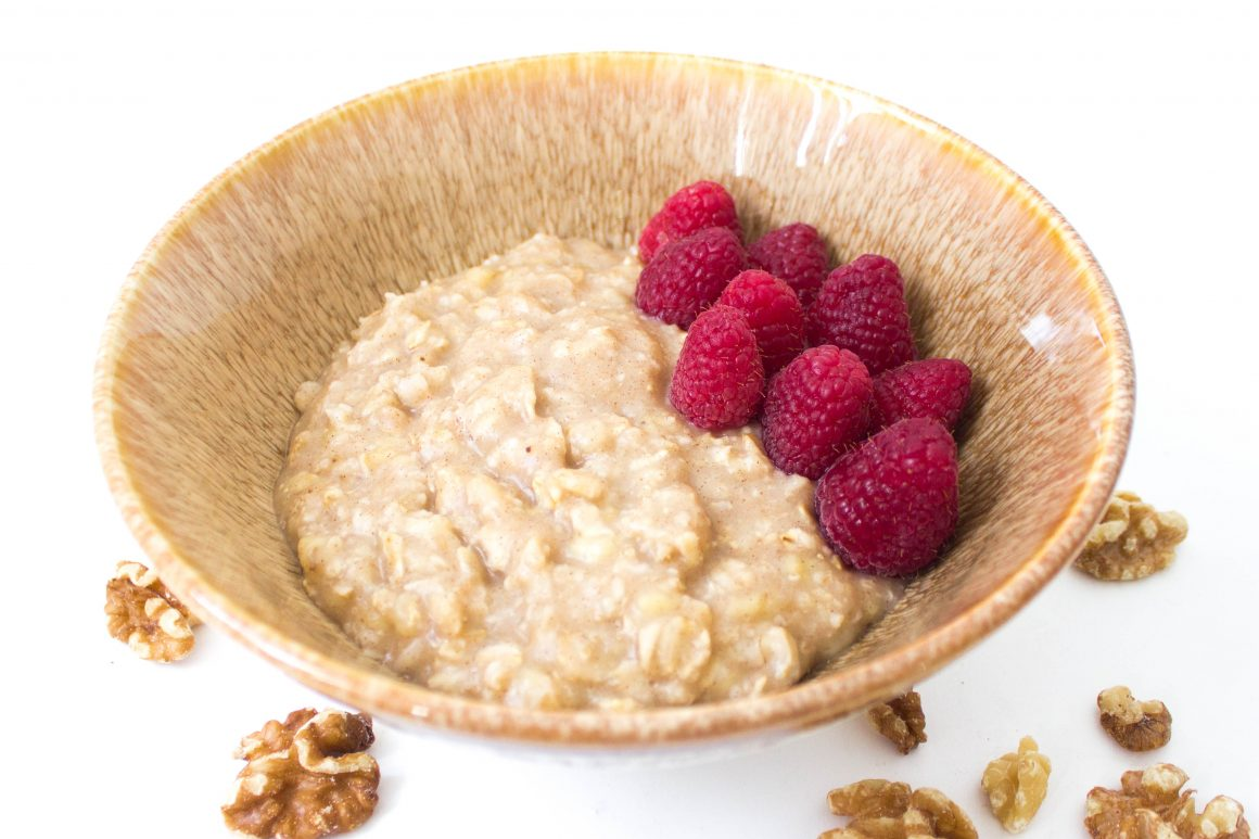 banana oatmeal vegan recipe healthy