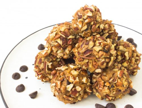 Pumpkin energy balls vegan recipe healthy recipe raw food