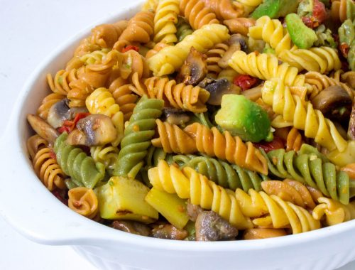 vegan lunch, vegan dinner, plant based recipe, vgan recipe, vegan pasta, pasta salad, easy recipe, easy pasta, healthy recipe