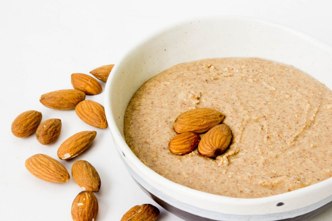 Homemade Almond Butter, easy dairy-free butter, vegan almond butter, healthy recipes